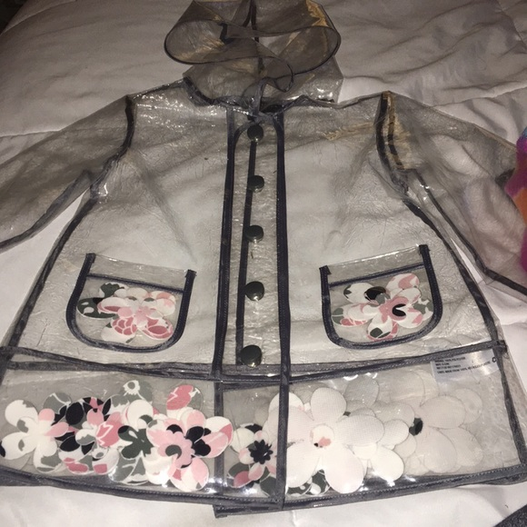 fac920ac6 Jackets & Coats | Cute Clear Rain Jacket | Poshmark